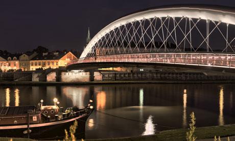 podgorze bridge, Krakow