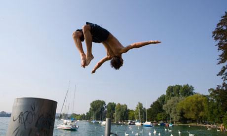 Zurich swimming
