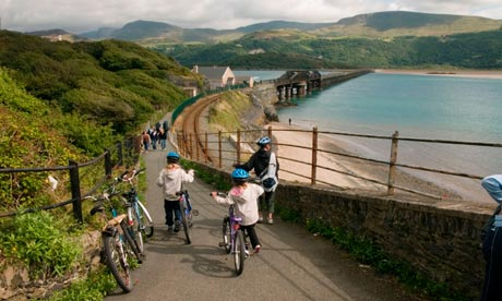 mawddach big 8 cycle route