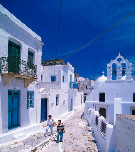Agii Pandes, Chora, Amorgos