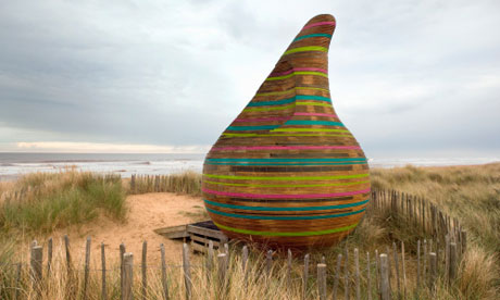 Jabba the Hut artwork, Mablethorpe