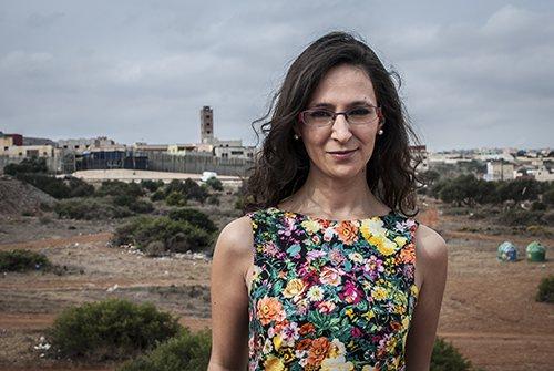 Sara Mohamed Shaib from Melilla