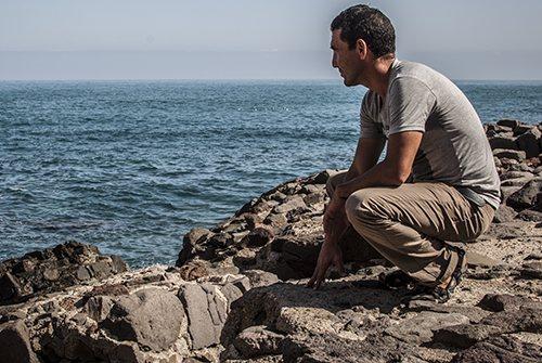 Abdel Ghani from Beni Mellal, Morocco, living rough in Melilla