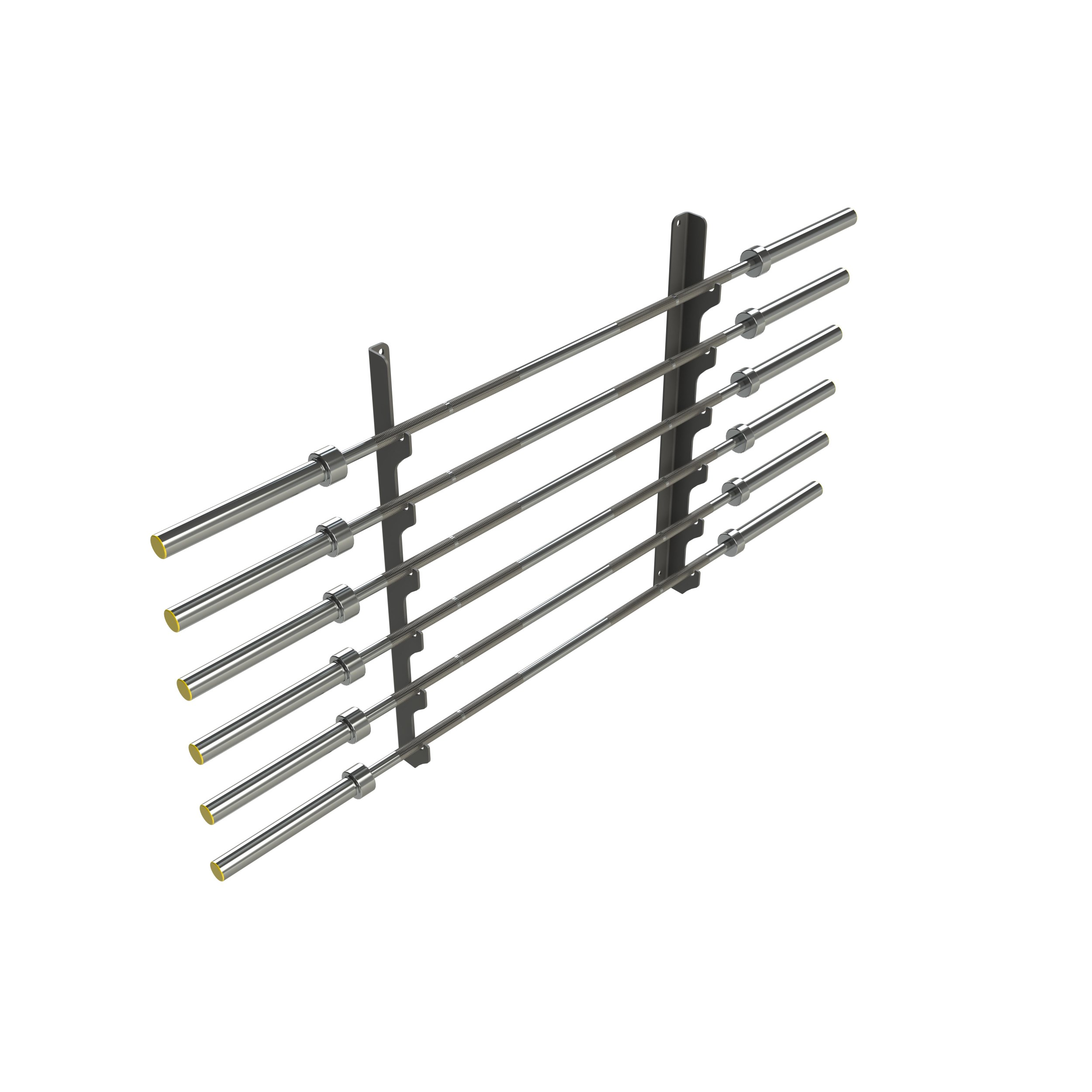 Horizontal Wall Gun Rack 6 Bars From Netfit