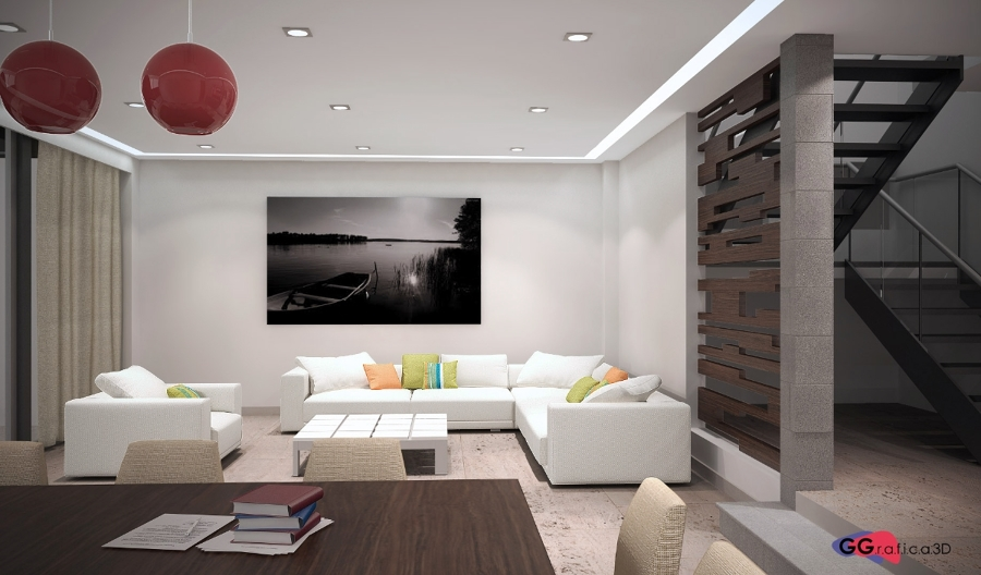 Foto Estancia  Diseo de Interiores e Infografa de Gg