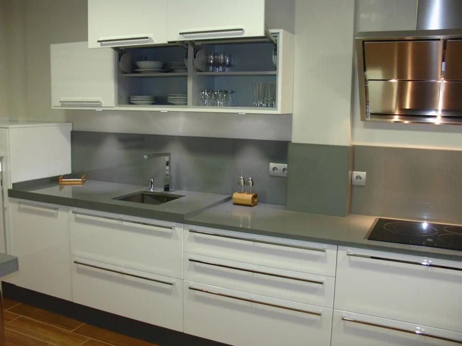 Foto Cocina Blanca y Gris de Cocinastellosl 505843