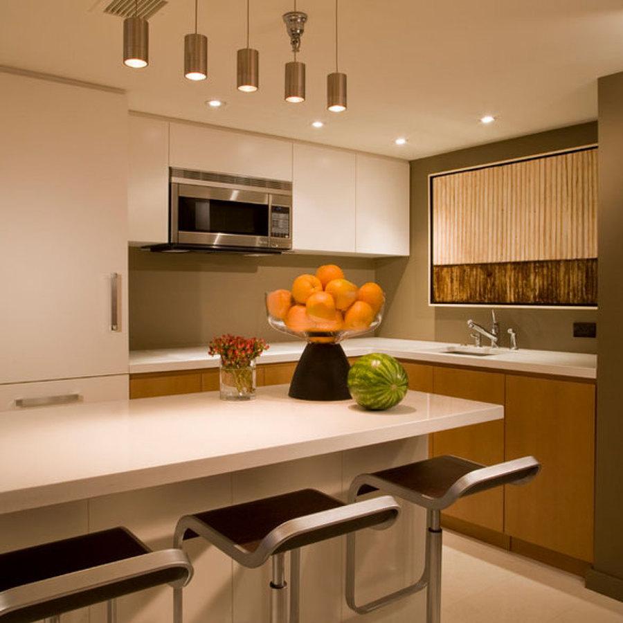 Foto Luz Fra y Clida para Cocina de 3dinteriores