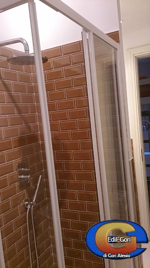 Bagno Con Mattoncini Progetto ristrutturazione bagno contemporaneo pianta Arredare bagno come