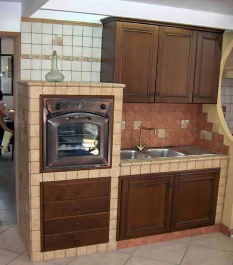 Cucina In Muratura Per Esterni Con Barbecue - Idee per interni per ...