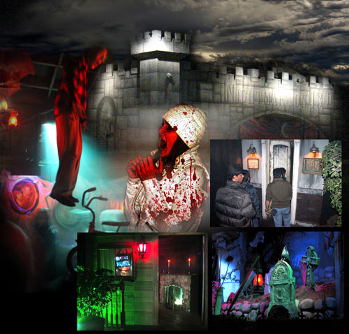 Haunted House In Chandler Arizona The Asylum Haunted House