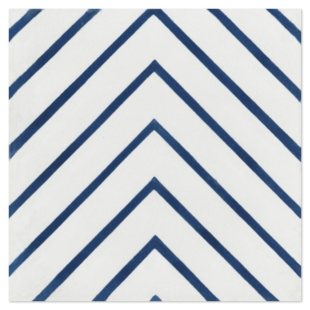 villa lagoon tile labyrinth berry blue 7 7 8 in x 7 7 8 in cement handmade floor and wall tile white matte