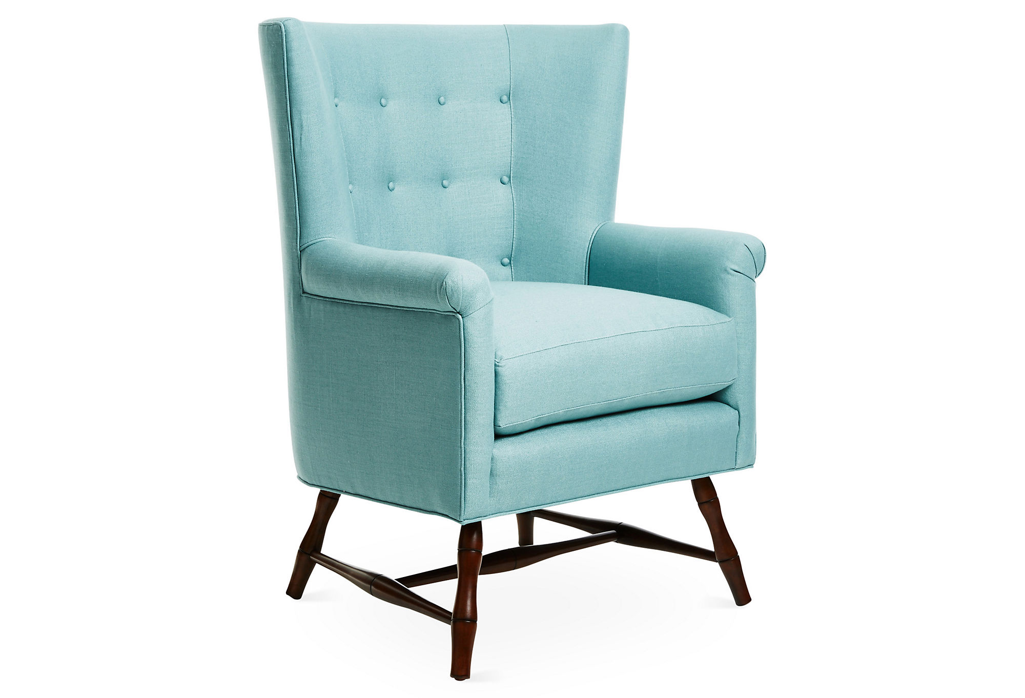 turquoise wingback chair sure fit covers unique rtty1