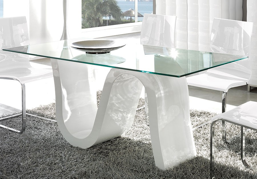 Table De Sejour En Verre Maison Design