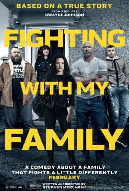 Image result for fighting with my family poster