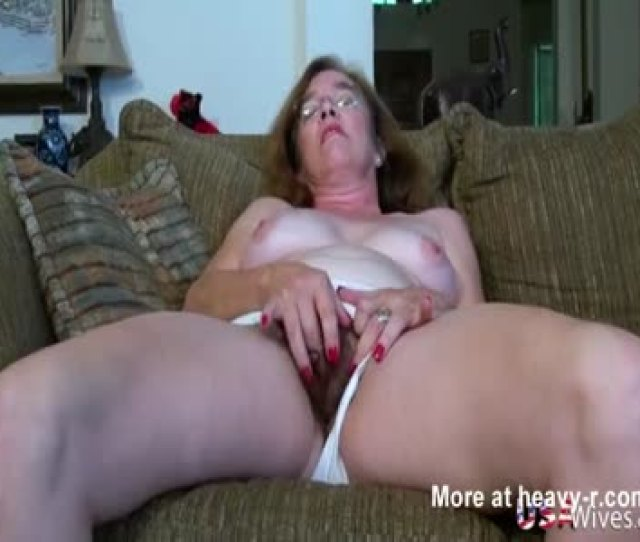 Hairy Granny Pussy Fucking With Sex Toy