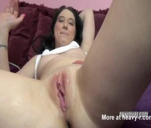 Huge Vibrator Makes Girl Squirt