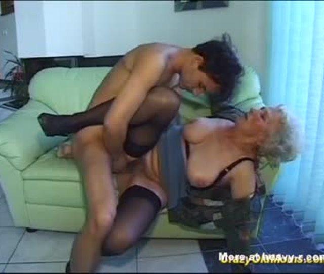Grandson Fucks His Old Horny Granny