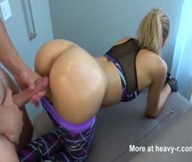 Fitness Girl Fucked In Pov