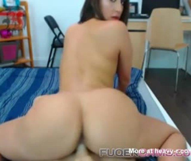 Big Booty Girl Fucks A Fake Man