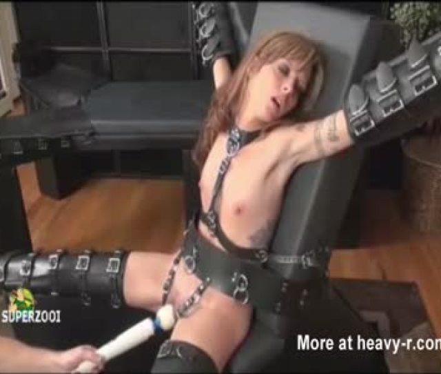 Female Slave Forced To Orgasm