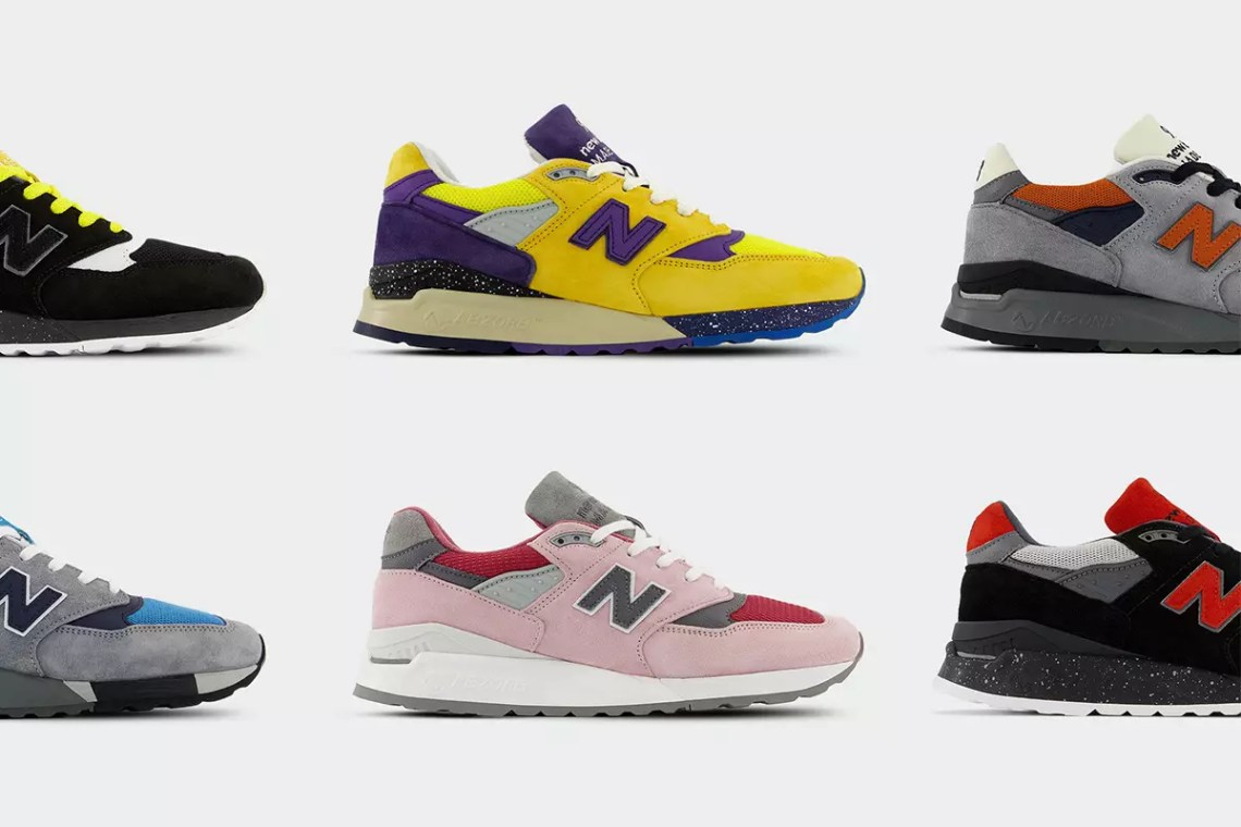 Each Pair of MADE Responsibly New Balance 998 Is One-of-a-Kind