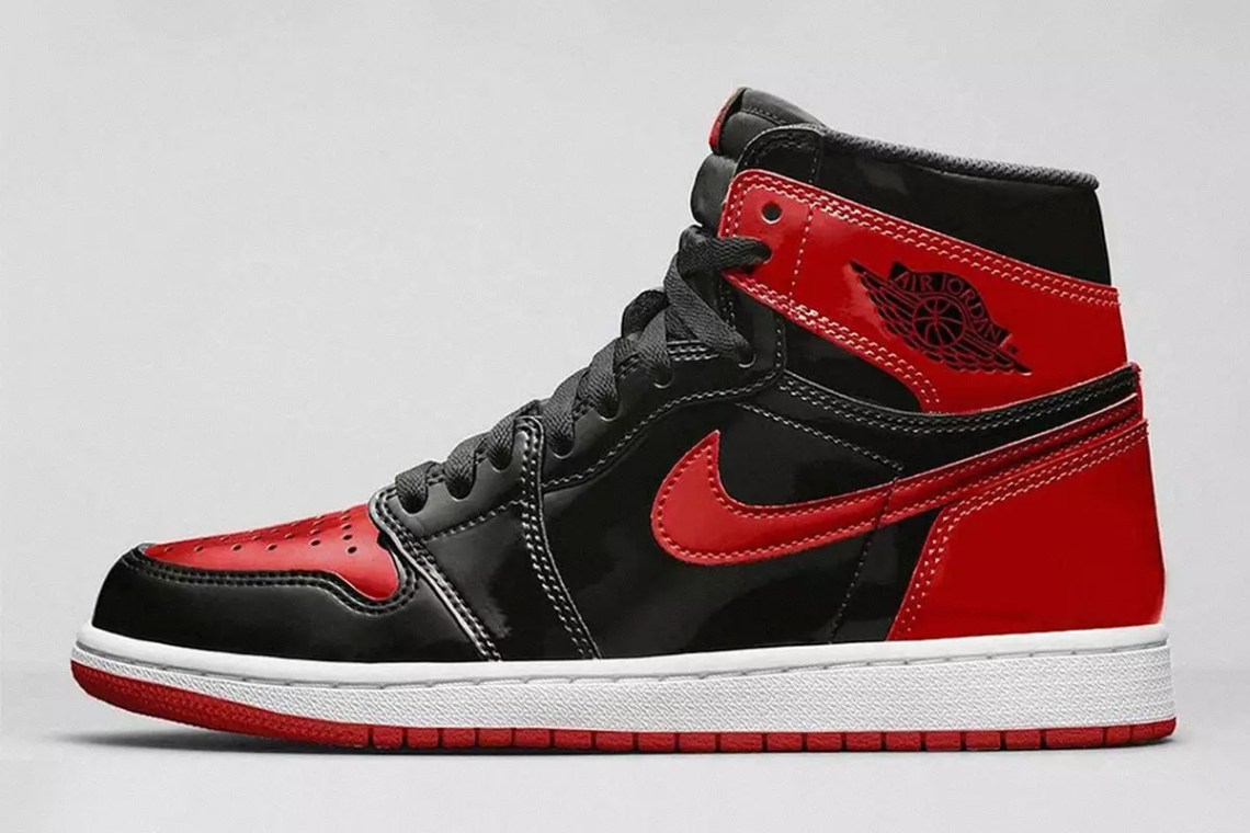 This OG AJ1 Colorway Just Got a Shiny Upgrade