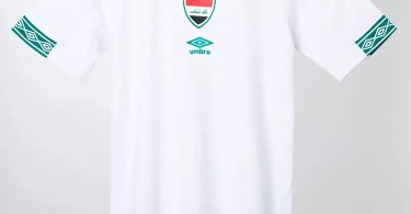 Umbro's New Iraq Jerseys Are Better Than All the Euro 2020 Kits