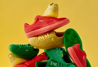 Of Course PUMA's Haribo Suedes Come With a Gummy Bear Hangtag