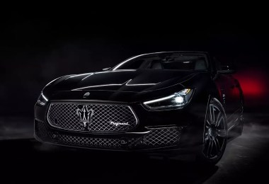 Would You Like Your fragment design x Maserati Ghibli in Black or White?