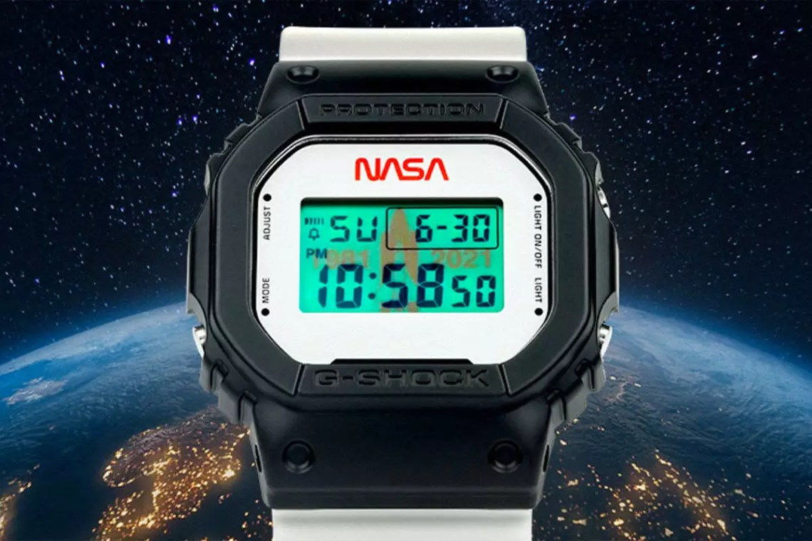 NASA's New G-Shock Is a Piece of Space History