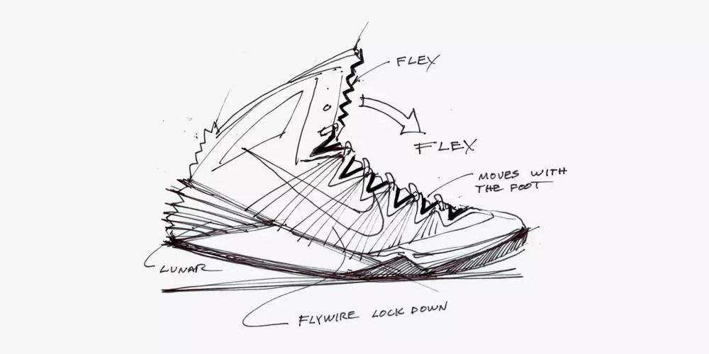 Nike Design Sketches of Hyperdunk 2013 • Highsnobiety