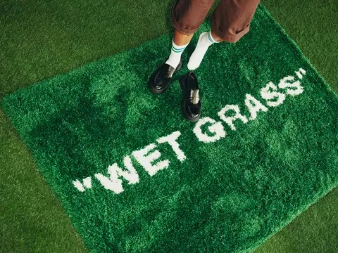 "IKEA x Off White Virgil Abloh ""WET GRASS"""