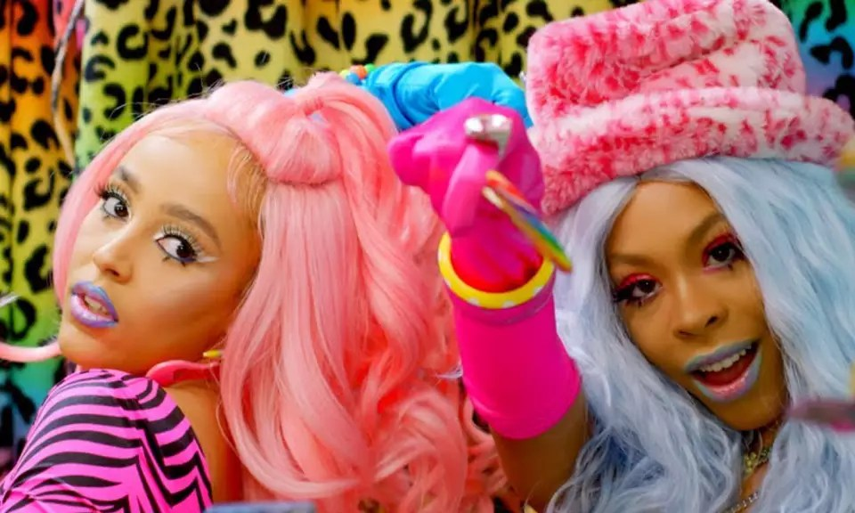 Doja Cat Amp Rico Nasty Stay Twinning With Their Quot Tia Tamera