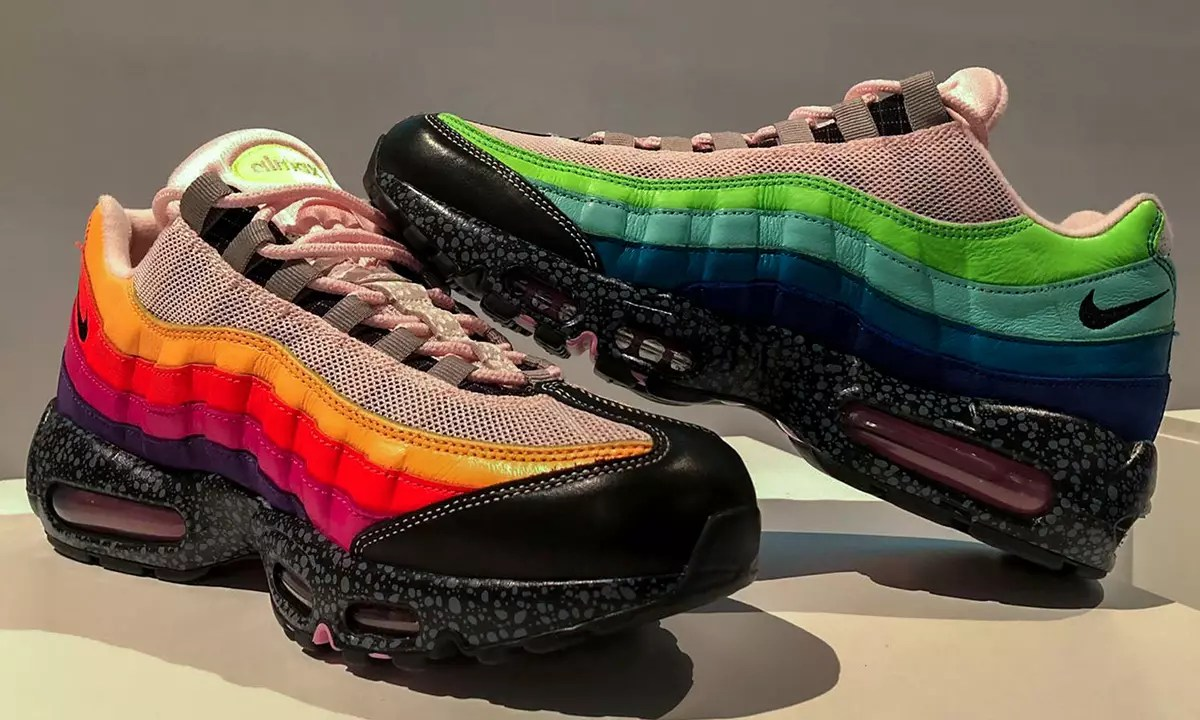 size x nike air max 95 first look info