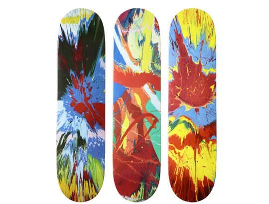 Damien Hirst For Supreme Skateboard Decks Highsnobiety