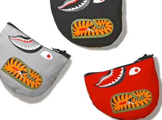 Bape Shark Coin Pouch  Highsnobiety