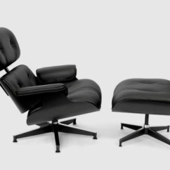 Black Chair And Ottoman Beach Chairs With Cup Holders Herman Miller Eames Lounge Limited All Releases A Edition Version Of The Iconic In Asia Featuring Plywood