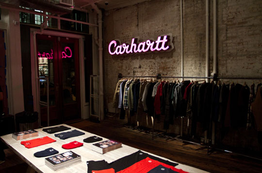 Fall In Paris Wallpaper Carhartt Wip New York Store A Look Inside Highsnobiety