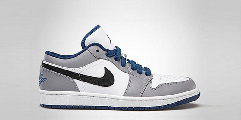 Air Jordan 1 Low True Blue Highsnobiety