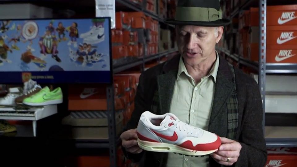 Nike Design Legend Tinker Hatfield stars in Esquire