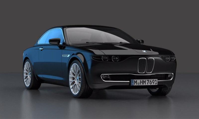 BMW CS Vintage Concept Salutes the Past  Highsnobiety