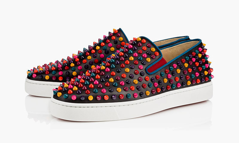 Christian Louboutin Multi Color Spike Capsule Collection