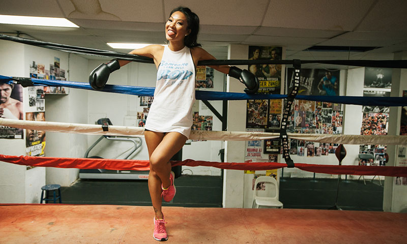 Boy Kick Girl Wallpaper Watch Asa Akira Learn How To Box Highsnobiety