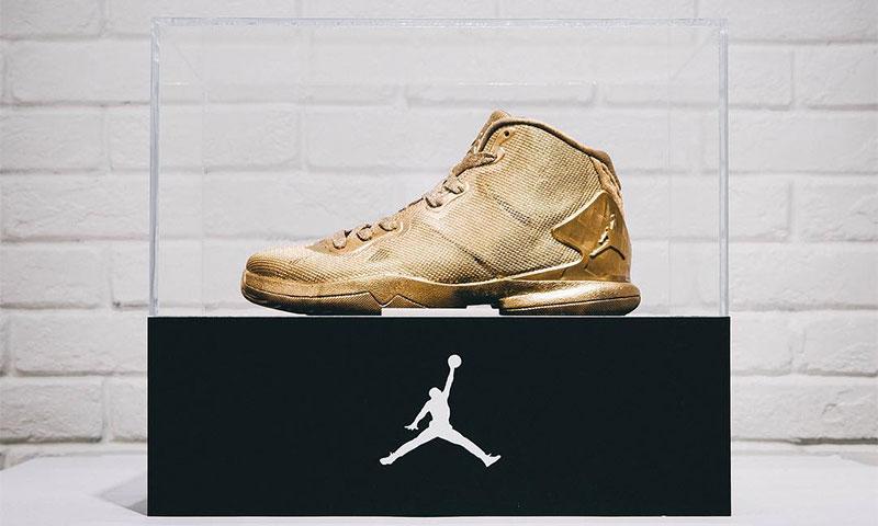 Jordan Brand Presents 23 Karat Gold Jordan SuperFly 4