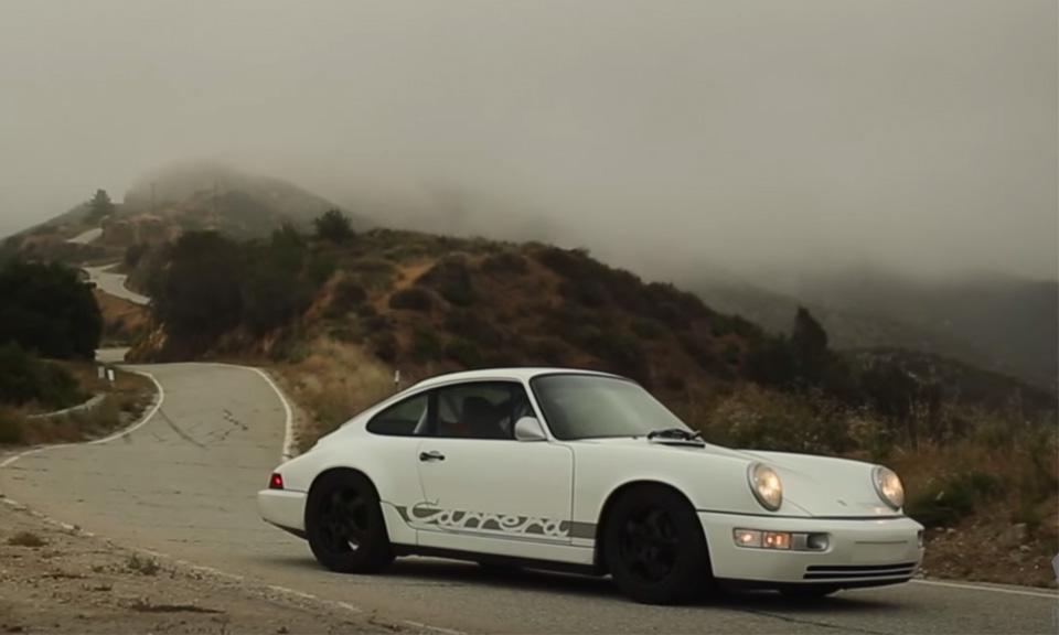 Take a Ride in the Hot RodInspired Porsche 964  Highsnobiety