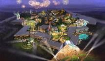 20th Century Fox Building Movie Inspired Theme Park