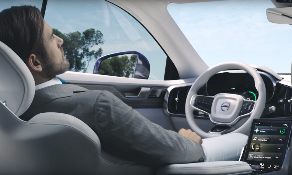 Volvo Unveils Concept 26 SelfDriving Car  Highsnobiety