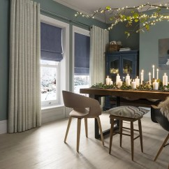 Patterned Curtains For Living Room Ideas Wood Burning Stove Uk 50 Off Sale On Hillarys Beige Dining Malva Duckegg Romans Islitablue