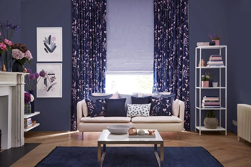 curtains in living room images corner decor made to measure up 50 off hillarys blue radiance lavender