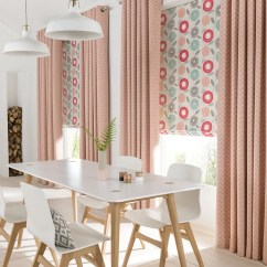 Long Living Room Curtains Curtain Ideas For Large Window Dining Up To 50 Off In Our Winter Sale Hillarys Pink Natur Horizon Salmon Freyja Coral